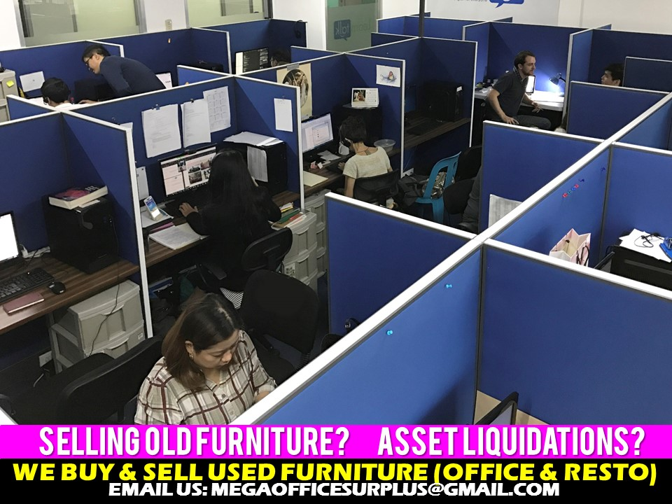 Workstation Disposal Manila Megaoffi