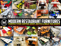 Restaurant Furniture Supplier Importer Manila
