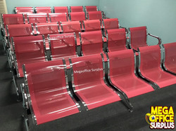 5 Seater Steel Gang Chair Megaoffice Sur