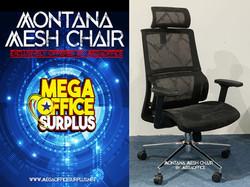 Mesh Swivel Montana Chair