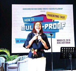 Bullying Seminar by Dr Joyce Piap Go