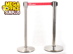 Stainless Barrier Queue Stand