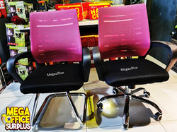 Pink Office Chairs Mesh Swivel megaoffice Ikea