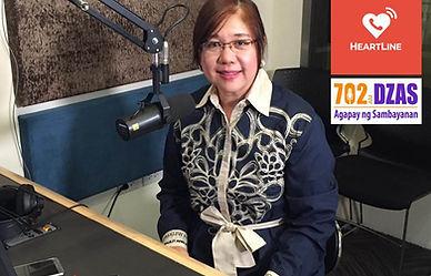 Heartlin DZAS 702 Radio Program with Dr Joyce Piap Go