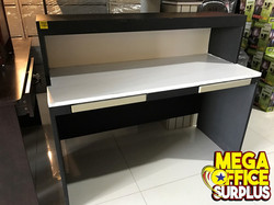 Front Reception Counter Table