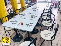 Mcdonald Chair Table Supplier Surplus Megaoffice Used Sale