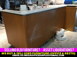 Megaoffice Furniture Disposal Buyer