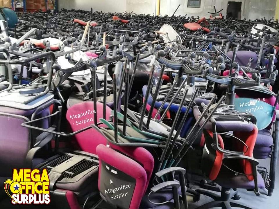 Megaoffice Surplus Office Swivel Chairs