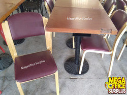 Canteen Chair Table Surplus Megaoffi