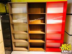Wood Book Case Megaoffice