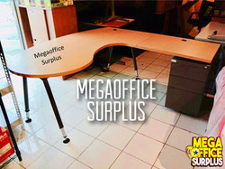 Lshape Manager Office Table Used
