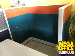 Color Office Used Partition Workstat