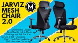 Jarviz Ergonomic Mesh Chair Megaoffice