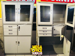 Steel Storage Cabinet Megaoffice
