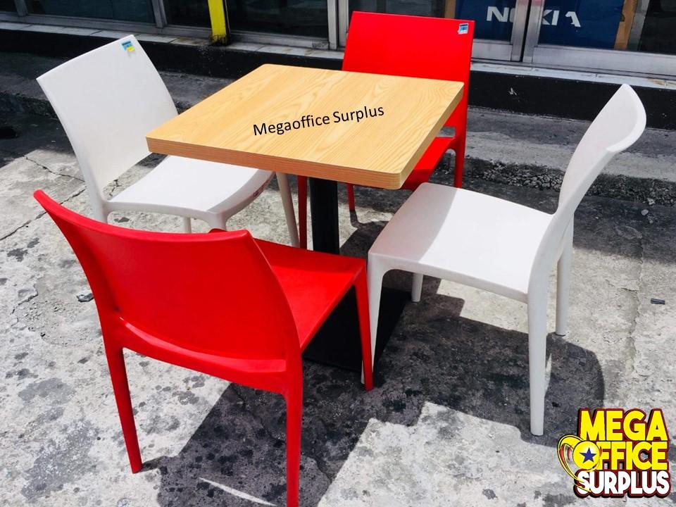 Cofta Plastic Chairs Jasmin Megaoffice