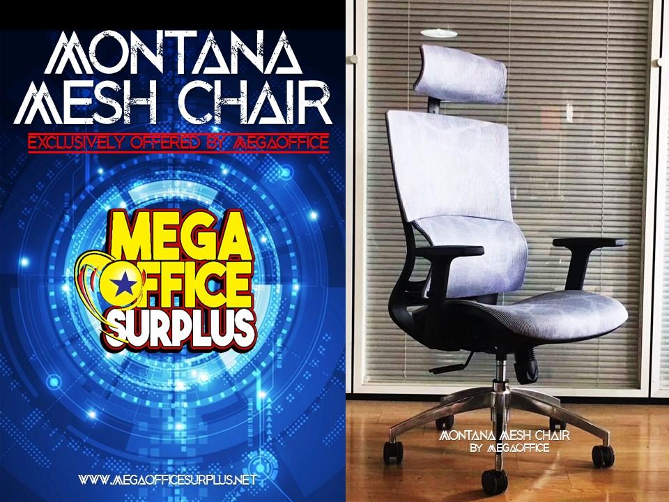 Montana Mesh Swivel Chair Megaoffice