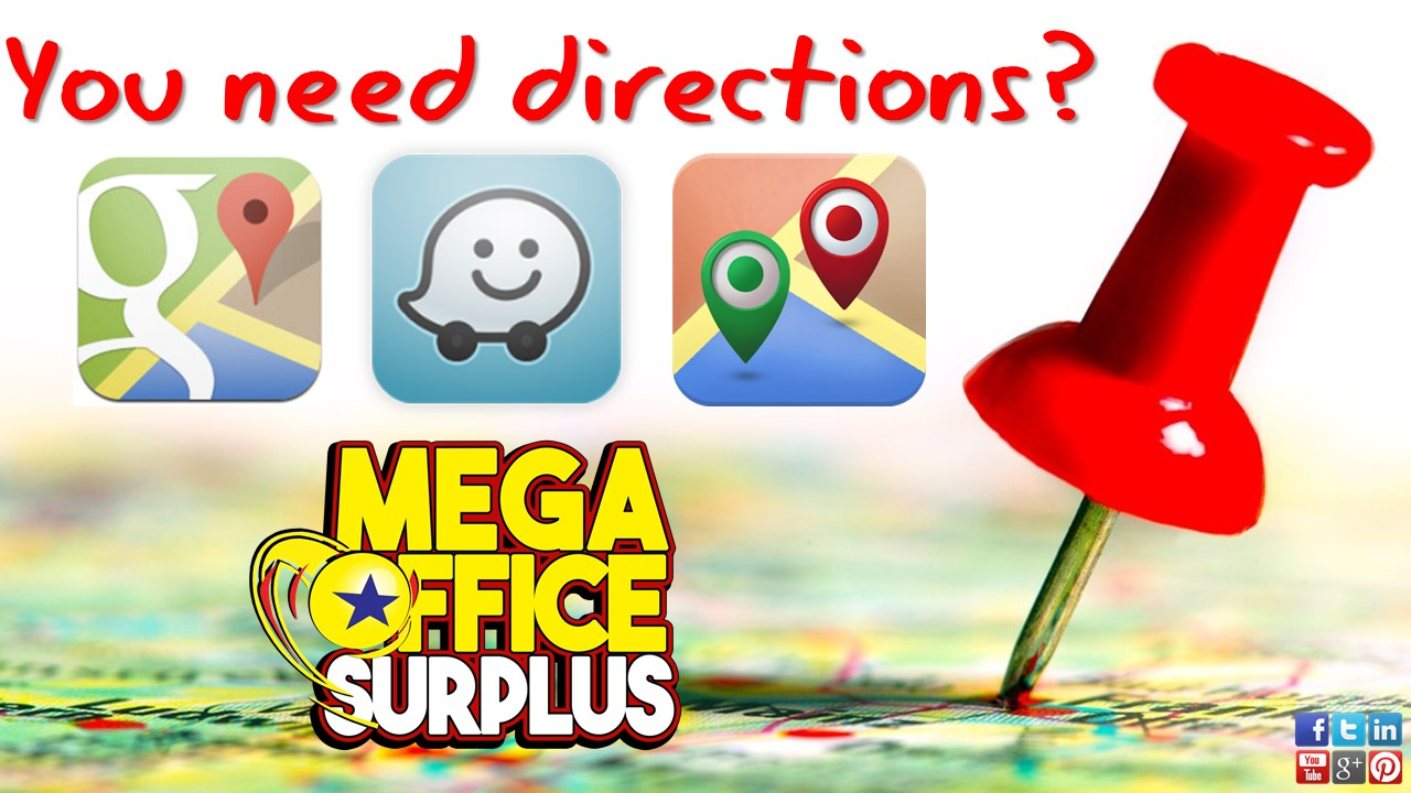 Megaoffice Branches Map