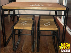 Resto Chairs and Table Megaoffice