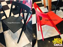 Plastic Chair Cafe Restaurant Milk Tea
