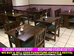 Restaurant Furniture Disposal Buyers