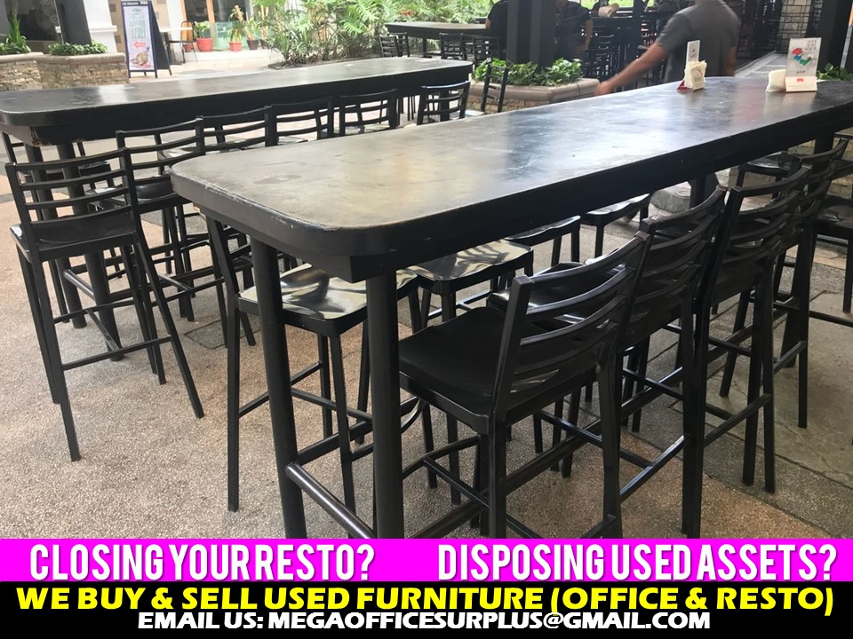Resto Chair and Table disposal Manil