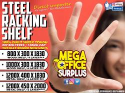 Megaoffice Solidsteel Racking Shelf