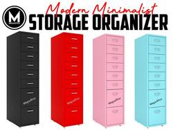 Ikea Style Steel Filing Cabinet Megaoffice