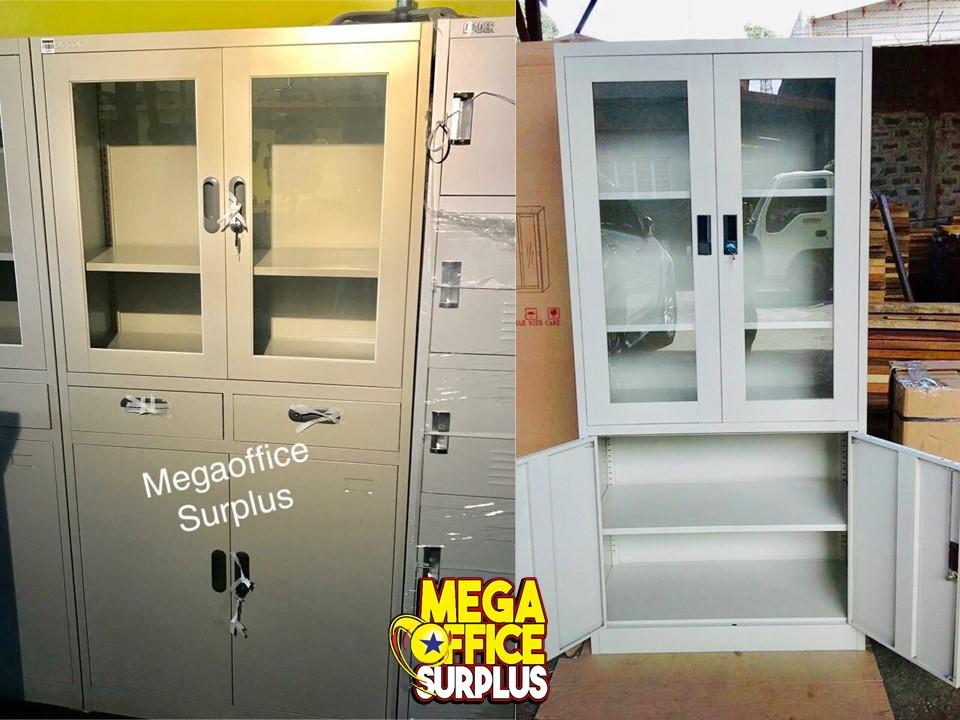 Steel Glass Office Cabinet Megaoffice Su