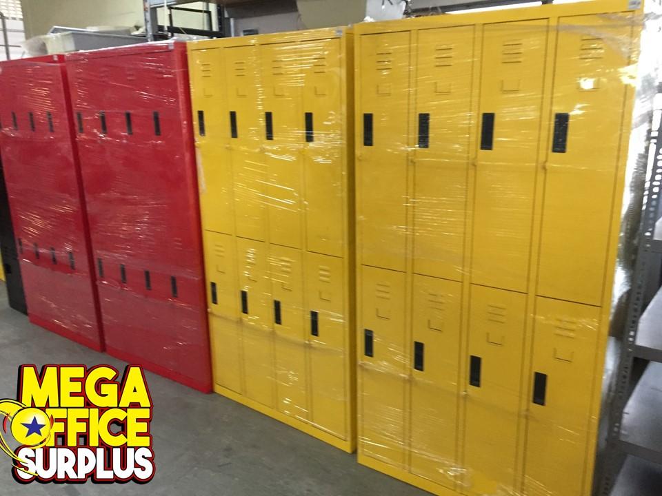 Colorful Steel Locker Used