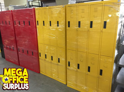 Colorful Steel Locker Used