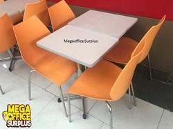 Jolibee Mcdo Used Table chairs Megao