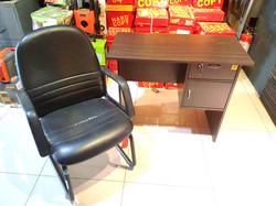 Modern office table and chairs
