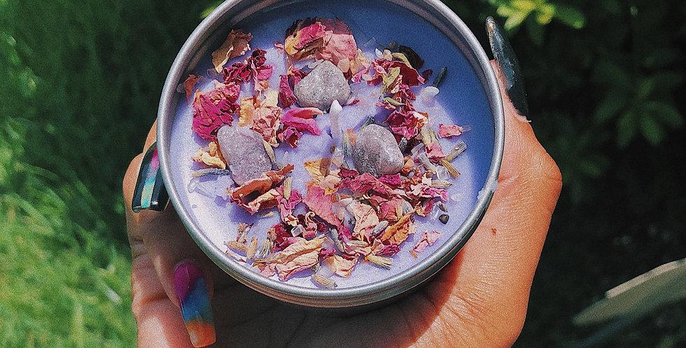 Lavender + Vanilla Flow Candle