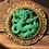 Thumbnail: Hattie Carnegie Faux Jade Dragon Pendant/Brooch