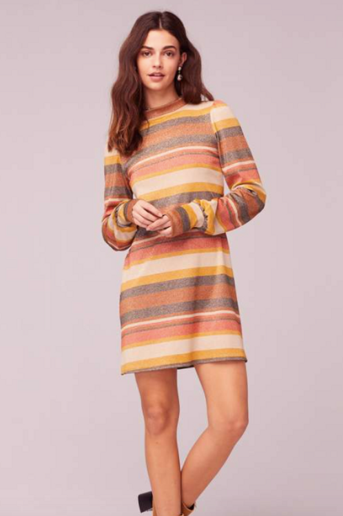Dazed and Confused Retro Luxe Shrift Dress