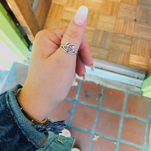 Sterling Silver I'll Be Seeing You Ring