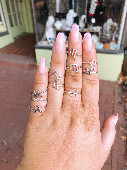 Horoscope Rings