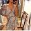 Thumbnail: Floral Lilac Surplus Mini Dress