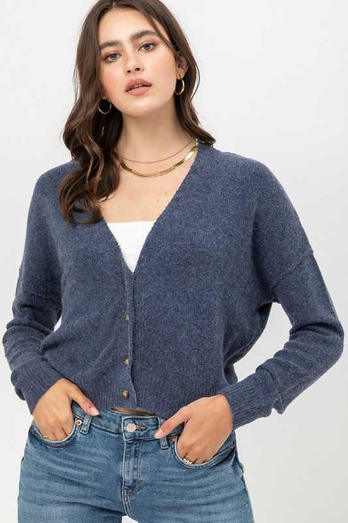 Cropped Cardi Party Sweater