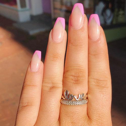Love Ring in Cursive