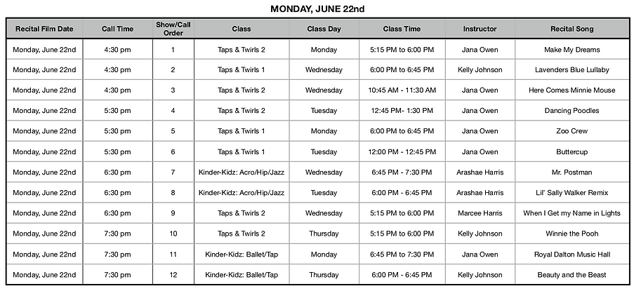Monday - List of Classes.png