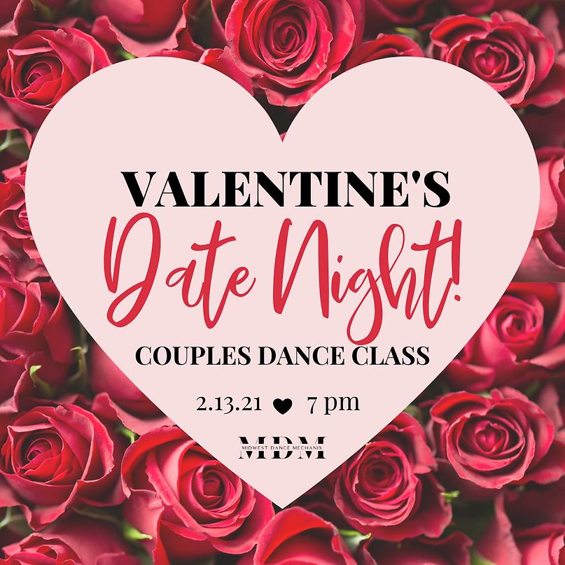 Valentines Couples Dance Class - Insta.p