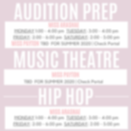 AUDITION PREP:mt:hip hop as of 5:31:20.p