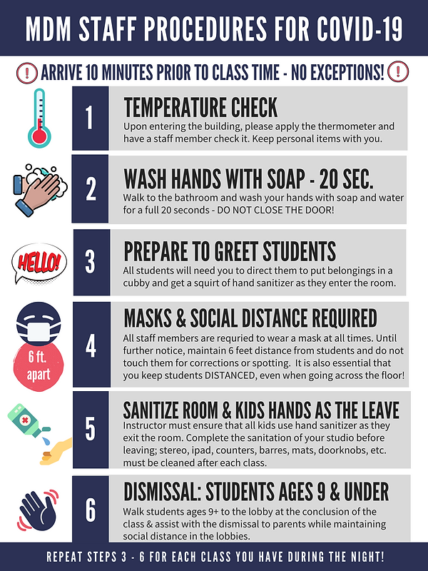 STAFF policies - updated as of 8:15:20.p