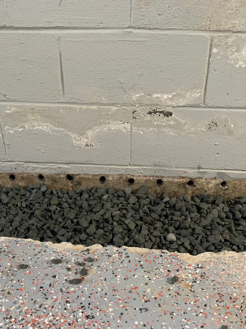 Weep Holes For Drainage
