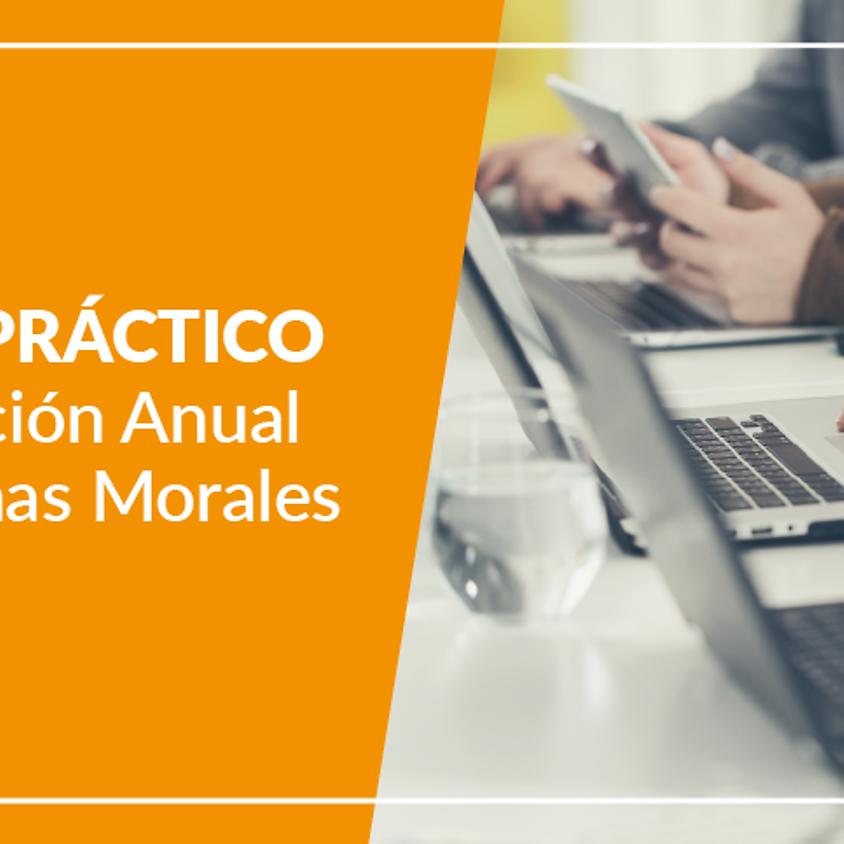 Curso Práctico Declaración Anual de Personas Morales