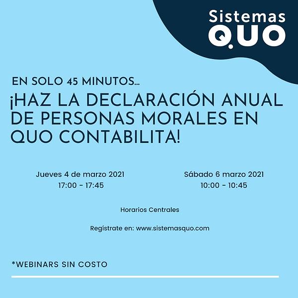 20210306 Haz la Declaración Anual en Quo