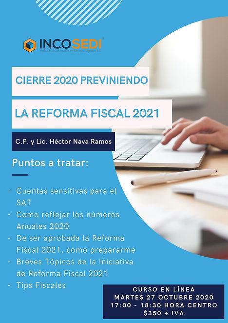 20201027 Cierre 2020 Previniendo Reforma