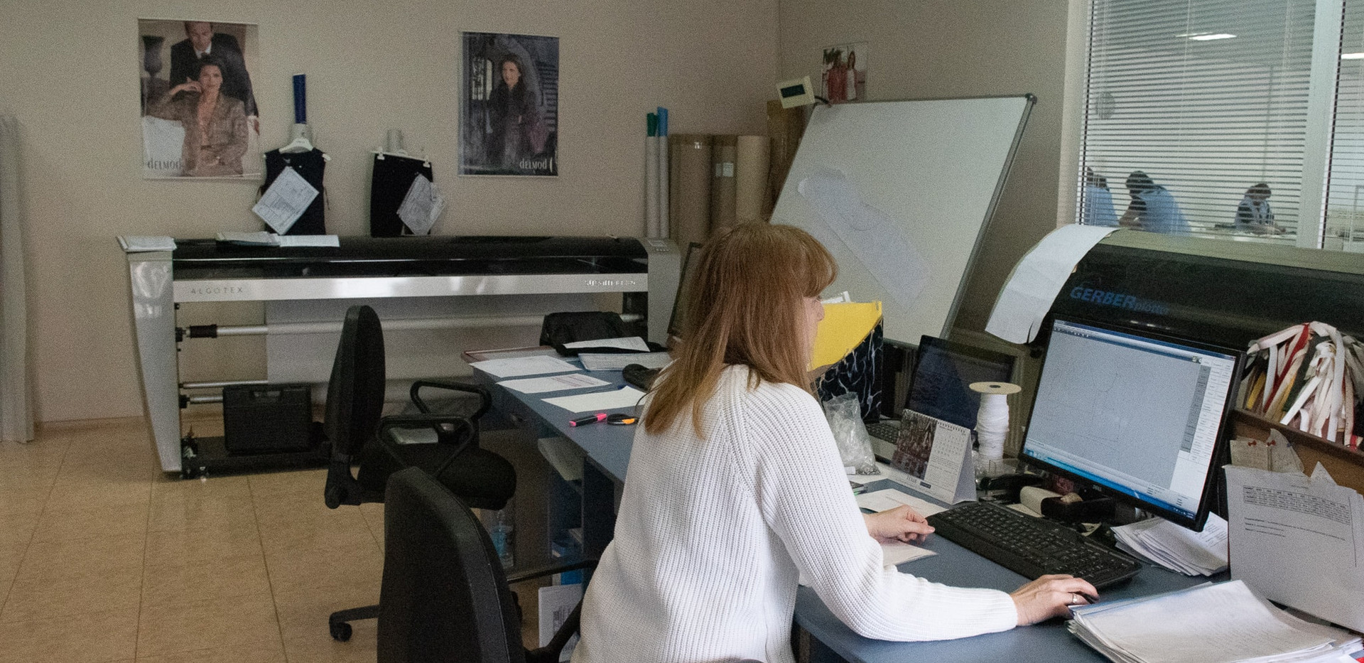 Pattern and design department