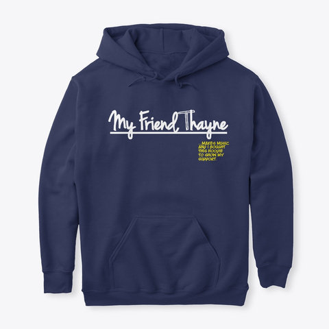 """""""I Support"""" Hoodie (NAVY)"""